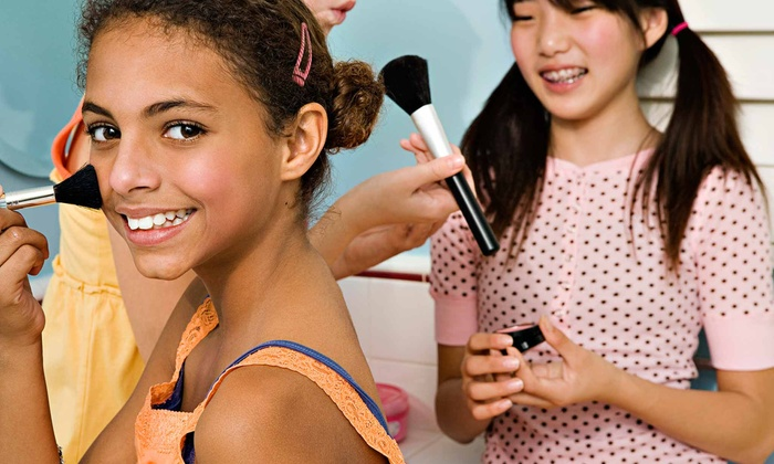 Sweet & Sassy - Dallas: Girls' Make-Your-Own-Creation Session, Blue Mermaid Makeover, or Haircut Package at Sweet & Sassy (Up to 52% Off)