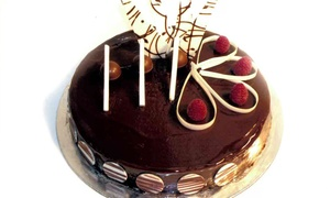 Time Grand Plaza: Choice of Cake at Time Grand Plaza (Up to 53% Off)