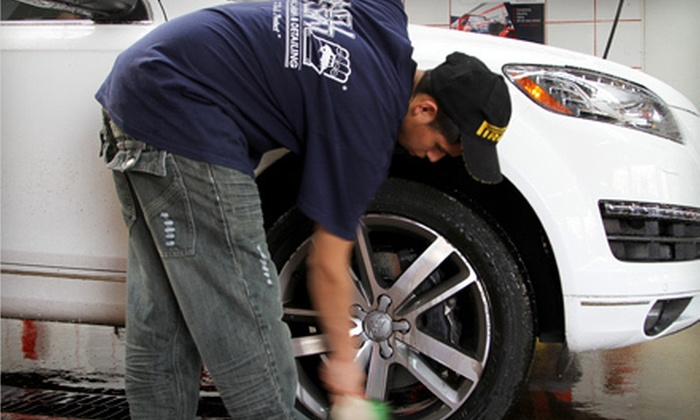 We'll Clean - Multiple Locations: Three Original Washes or One Exterior Wash with Interior Detail at We'll Clean (Up to 63% Off)