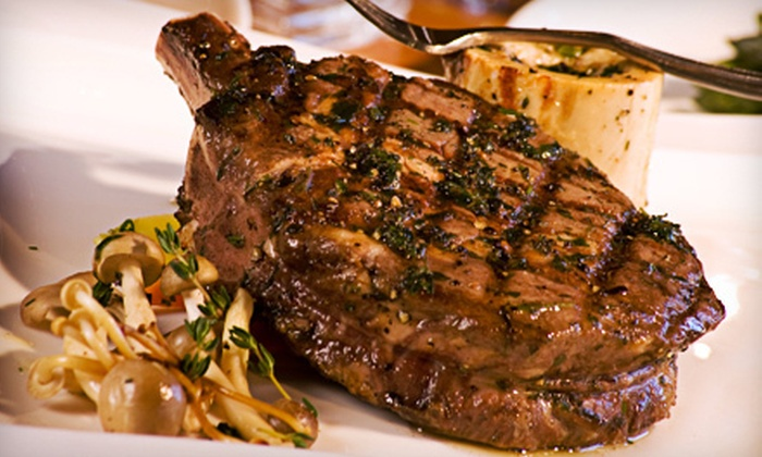 VooDoo Steak - Las Vegas, NV: $38 for Steak House Entrees for Two at VooDoo Steak (Up to $76 Value)