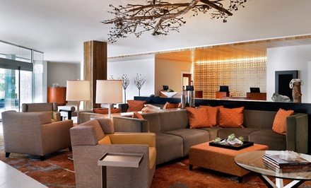 Stay with Daily Buffet Breakfast and WiFi at Sheraton Dallas by the Galleria in Dallas, with Dates into June
