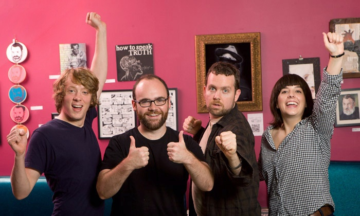 Upright Citizens Brigade Touring Company Comedy Show - Hu Ke Lau: Upright Citizens Brigade in Western Mass on Friday, April 25, at 7:30 p.m. (Up to 48% Off)