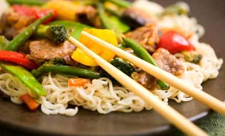 Japanese, Thai, and Chinese Cuisine for Two or Four at Hokkaido Restaurant (Half Off). Four Options Available.