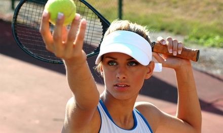 Four or Eight Adult Tennis Clinics at Overland Park Racquet Club (Up to 56% Off)