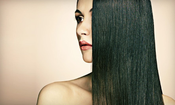 SH Salon - Multiple Locations: $129 for Keratin Smoothing Treatment at SH Salon (Up to $350 Value)