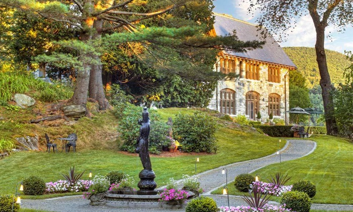 Castle Hill Resort and Spa - Cavendish, VT: One- or Two-Night Stay with Credit Toward Massage and Dinner at Castle Hill Resort and Spa in Proctorsville, VT