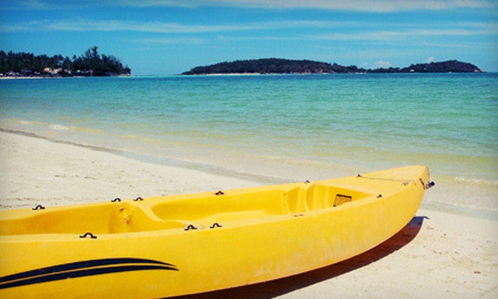 Windsong Charters - New Port Richey: Half- or Full-Day Rental of a Single or Tandem Kayak from Windsong Charters in New Port Richey (Up to 57% Off)