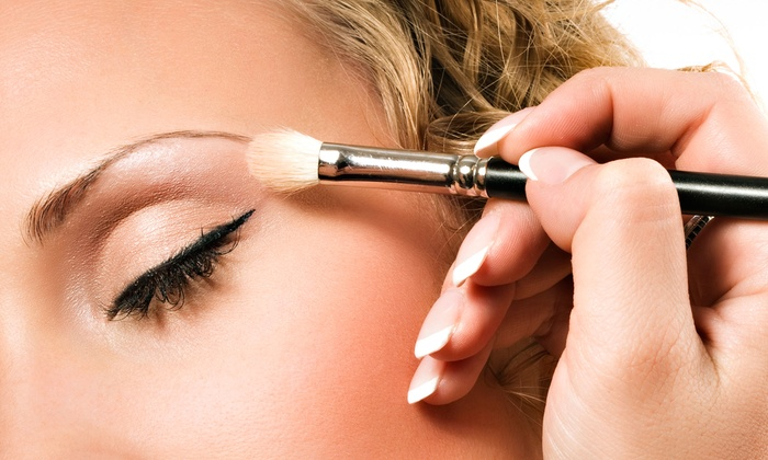 Beauty and the Brush - Allentown / Reading: On-Location Makeup Applications with Optional Eyelash Extensions from Beauty and the Brush (57% Off)