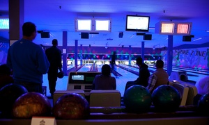 All Star Interactive: Bowling with Drinks for Up to Six or Private Bowling Party for Up to 25 at All Star Interactive (Up to 80% Off)