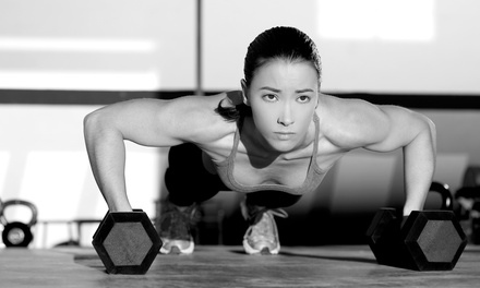 $59 for One Month of Unlimited CrossFit Classes at CrossFit Grounds ($125 Value)