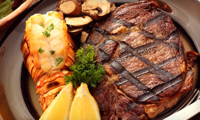 Ceci Italian Cuisine - Midtown Center: $69 for a Three-Course Surf 'n' Turf Meal for Two with Wine at Ceci Italian Cuisine (Up to $189.80 Value)