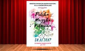 Promusica: 49 zł: bilet na koncert Polska Muzyka Filmowa w ICE Kraków Congress Center (zamiast 80 zł)