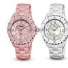 Burgi Women's Ceramic Bracelet Watches