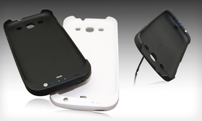Urge Basics Galaxy SIII 2200mAh Battery Case: $19.99 for a Black or White Urge Basics Galaxy SIII 2200mAh Battery Case ($49.99 List Price). Free Shipping and Returns.