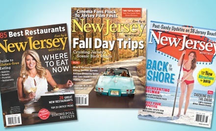 "groupon daily deal - $9 for a 12-Month Subscription to ""New Jersey Monthly"" Magazine ($19.95 Value)"