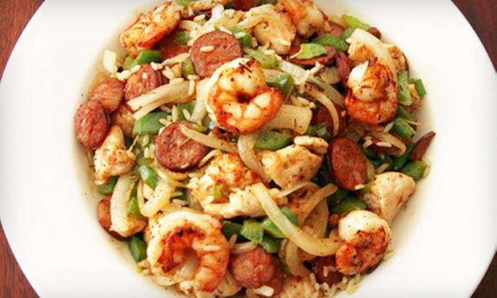 JACKshrimp - Mariners Mile: $15 for $30 Worth of New Orleans–Style Food at JACKshrimp