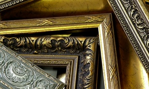 Frame 2000: Custom Framing, Art Pieces, or Printing at Frame 2000 and Frames Galore (66% Off). Two Options Available.