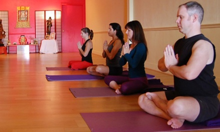 One or Two Months of Unlimited Yoga Classes at Yoga Connection (Up to 67% Off)
