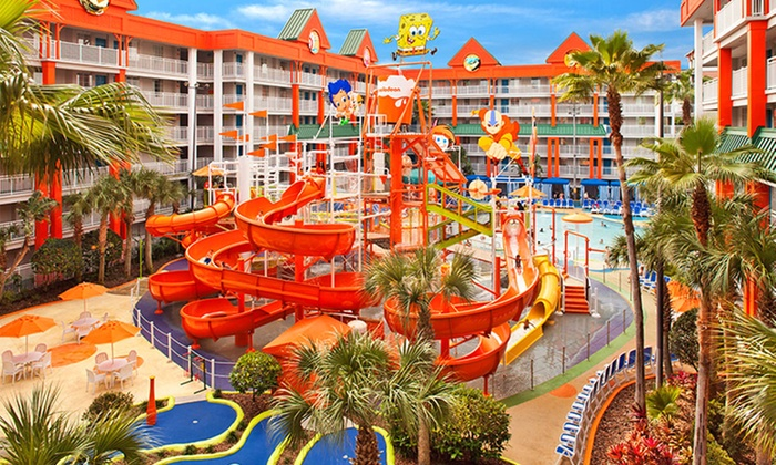 Stay at Nickelodeon Suites Resort in Orlando, FL. Dates Available into December.