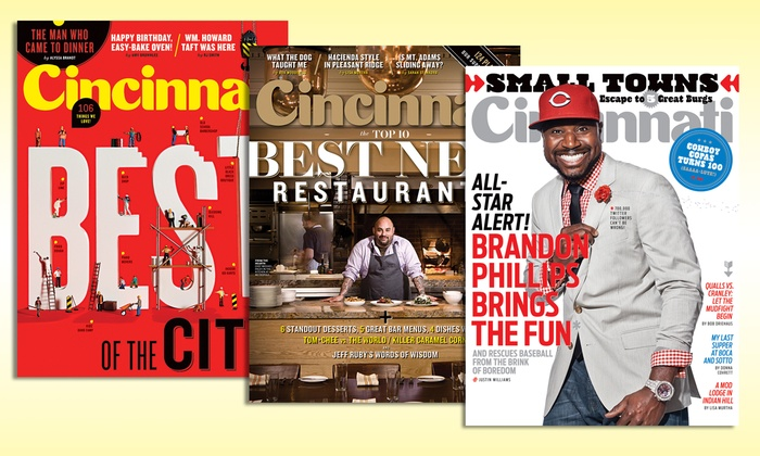 "Cincinnati Magazine - Central Business District: One- or Two-Year Subscription from ""Cincinnati Magazine"" (Up to 57% Off)"
