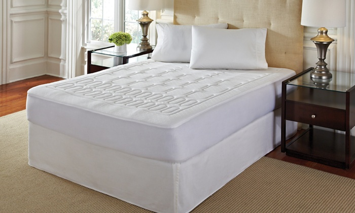 4-Zone Memory Foam Mattress Topper with Skirt: 4-Zone Memory Foam Mattress Topper with Skirt. Multiple Sizes Available from $59.99–$79.99