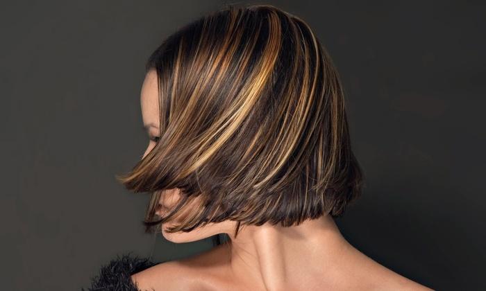 Brittney Baldasso at Salon D'va - Brownsburg: Haircut and Conditioning with Optional Color or Highlights from Brittney Baldasso at Salon D'va (Up to 68% Off)