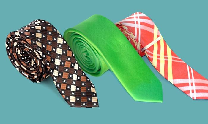 Skinny Ties: Skinny Ties. Multiple Designs Available. Free Returns.