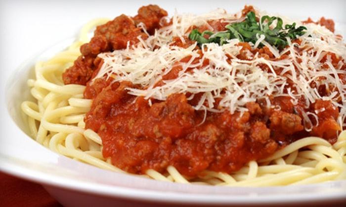 Cafe Italia - Washington DC: Italian Cuisine for Dinner or Lunch at Cafe Italia in Arlington (Half Off)