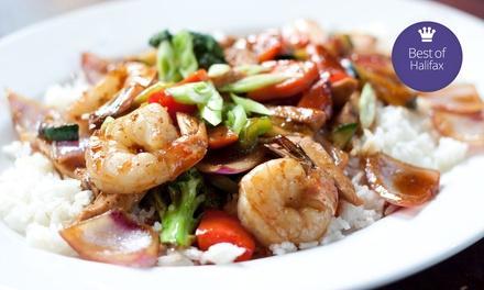Chinese Food at May Garden Restaurant (Up to Half Off). Two Options and Three Locations Available.