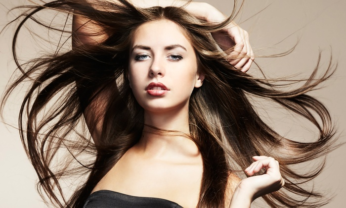 Pierino Scarfo Salon - Multiple Locations: Haircut with Optional Conditioning, Highlights, or Keratin Treatment at Pierino Scarfo Salon (Up to 56% Off)