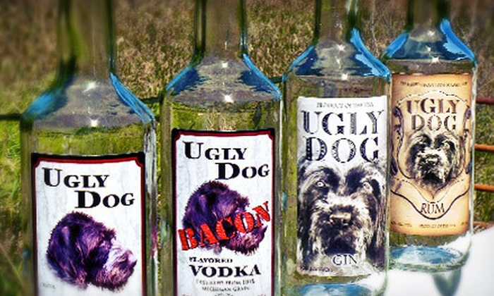 Ugly Dog Distillery, LLC - Chelsea: Distillery Tour for Two, Four, or Eight at Ugly Dog Distillery, LLC (Up to 55% Off)