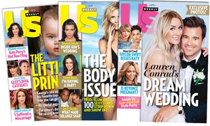 """$34 For A One-year, 52-issue Subscription To """"us Weekly"""" ($69.95 Value)"""