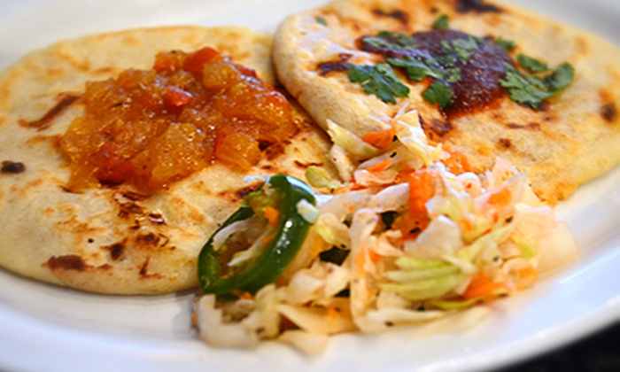 Pupusas - North Dallas: Salvadorian Food for Lunch or Dinner at Pupusas (Half Off)