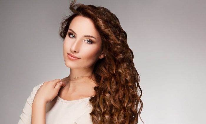 Najva Style - Plano: Haircut, Blow-Dry, and Style with Optional Color or Partial Highlights at Najva Style (Up to 56% Off)