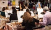 Ola la! IJORERE - Elgin: BYOB Painting Class with Open-Mic Performances for One, Two, or Four at Ola la! IJORERE (Up to 54% Off)