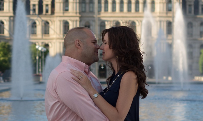Dgjr Photography - Albany / Capital Region: 90-Minute Engagement Photo Shoot with Retouched Digital Images from DGJR Photography (75% Off)
