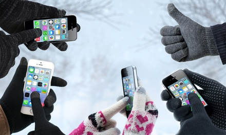 One or Two Pairs of Avanca Touchscreen Gloves