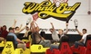 Whirlyball (Detroit) - Novi: $160 for a Whirlyball Outing for Up to 15 People with Pizza, Salad or Chips, and Soda ($364 Value)