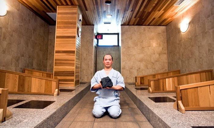 Iyashi Bedrock Spa - Lytton Park: $69 for Three Hot-Bedrock Bathing or Hot Yin Yoga Sessions at Iyashi Bedrock Spa (Up to $178.50 Value)