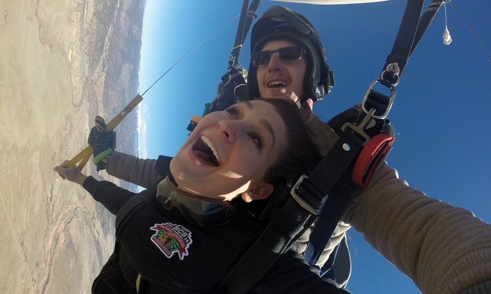 Royal Gorge Skydive - Royal Gorge Skydive: Tandem Skydive for Two with Option for Video and Photos from Royal Gorge Skydive (Up to 47% Off). Six Options.