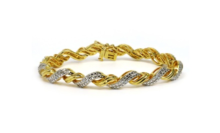 1/4 CTTW Diamond Bracelets