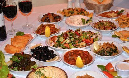 image for Eleven-Course Lebanese Tasting Menu for Up to Six at Yamal Alsham, Chelsea (Up to 68% Off)
