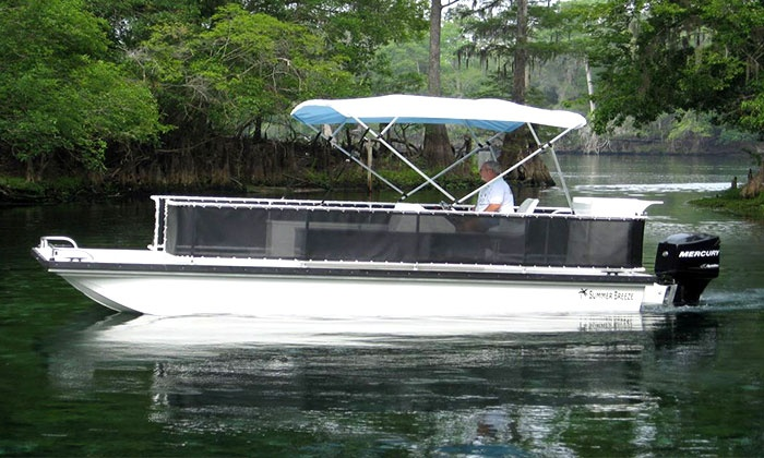 Belle Harbour Boat Rentals - Tarpon Springs: $135 for an Eight-Hour Pontoon-Boat Rental for Up to Eight from Belle Harbour Boat Rentals ($250 Value)