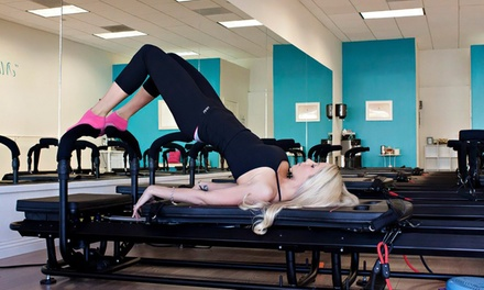 5 or 10 Pilates, Barre, or Booty Blast Classes at Fit Pilates Studio (64% Off)
