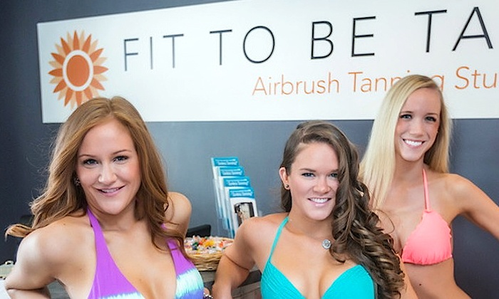 Fit To Be Tan - Fit To Be Tan: $35 for One Regular Full-Body Custom Spray Tan at Fit to Be Tan ($59 Value)