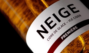 Domaine Neige: Luxury Tasting Package for Two or Four at Domaine Neige Cider Mill (Up to 51% Off)