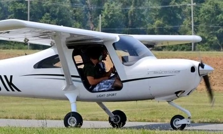One 60- or 90-Minute Flying Lesson at Harford Air Services (Up to 61% Off)
