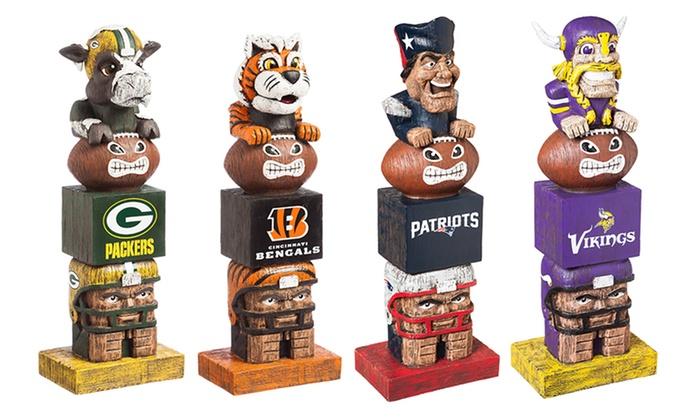 NFL Tiki Totem Garden Statues: NFL Tiki Totem Garden Statues ...