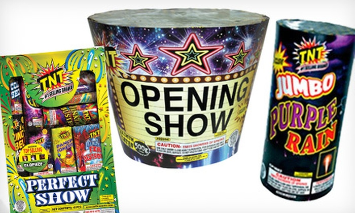 TNT Fireworks - Multiple Locations: $20 for $45 Worth of Fireworks at TNT Fireworks