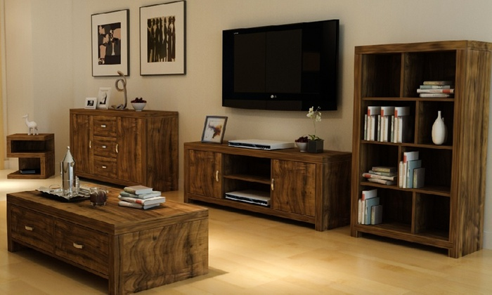 Portland Acacia Furniture | Groupon Goods